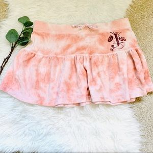 Juicy Couture flowy velour skirt